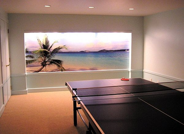 20 best awesome finished basement game rooms images on - Game room ideas for small rooms ...