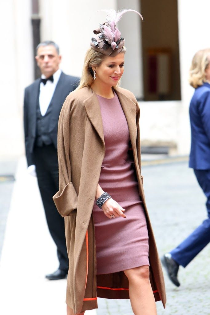 MYROYALS &HOLLYWOOD FASHİON: King Willem-Alexander and Queen Maxima Visit İtaly