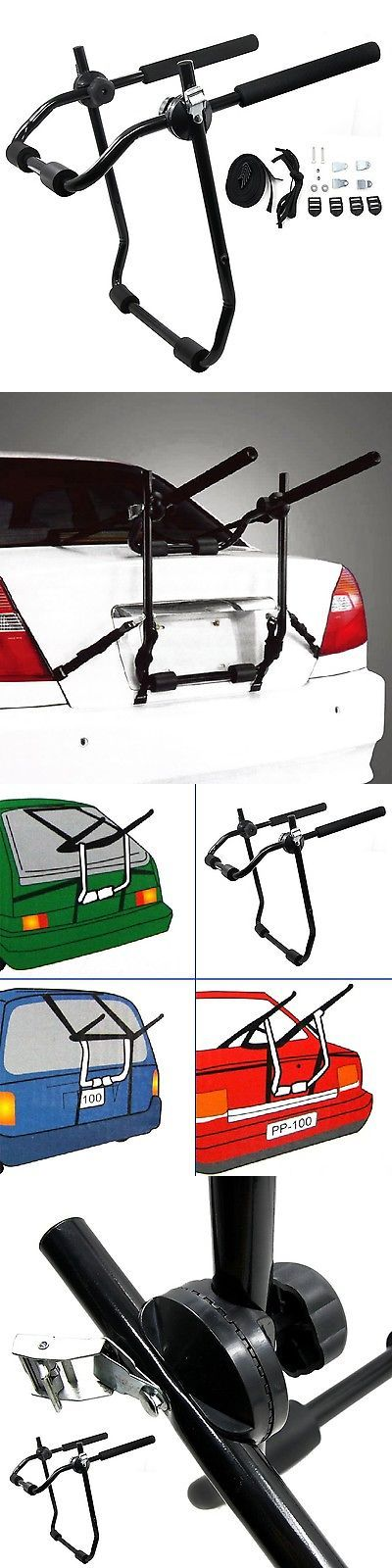 Other Bicycle Accessories 158998: Tirol Bike Bicycle Rear Rack Bike Carrier Q195 Powder Coating M... Free Shipping BUY IT NOW ONLY: $59.73