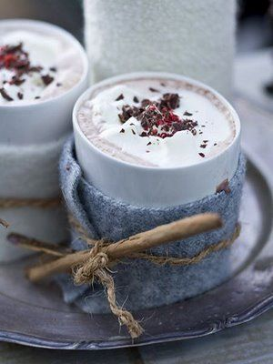 ... hot chocolate ...