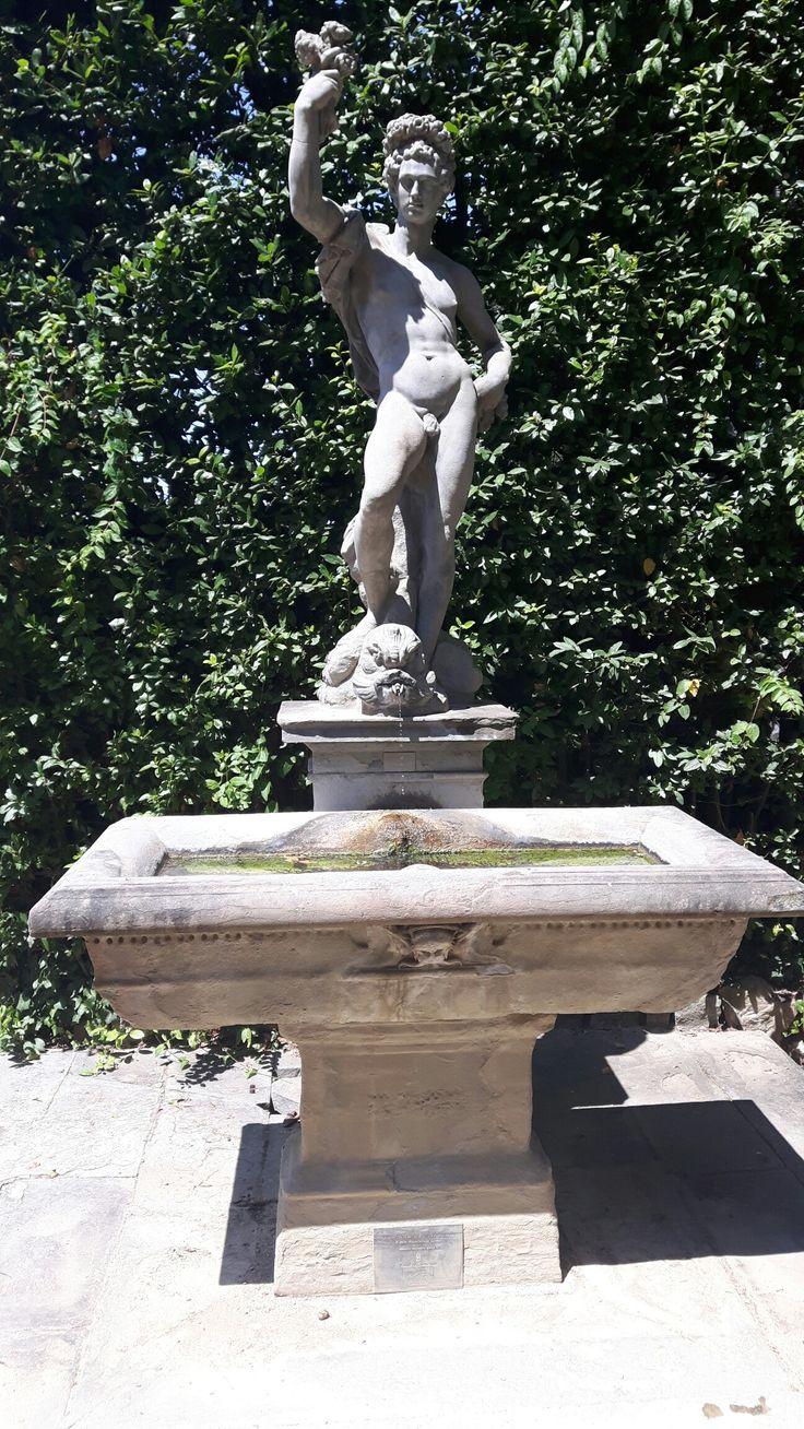 Fontana del Narciso Giardin de Boboli Firenze