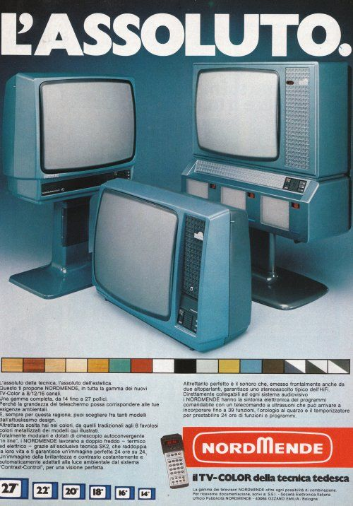 1979 nordmende #tv set