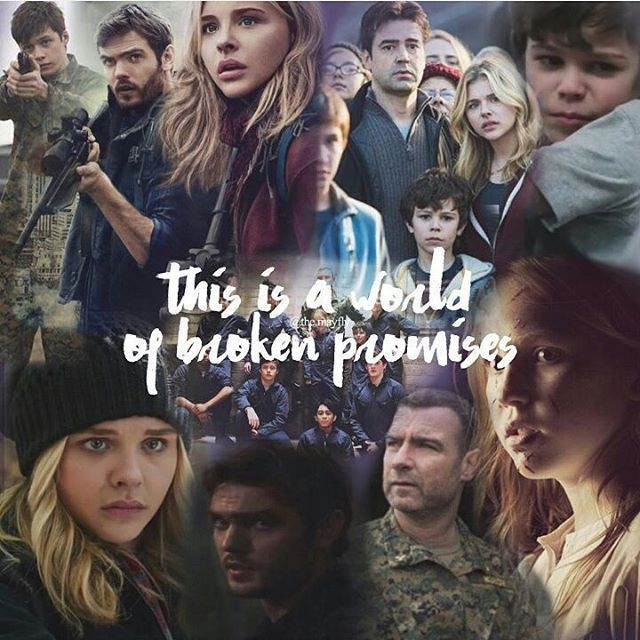 This is a world of broken promises. | The 5th Wave fan art by paulamoretz2000 on Instagram