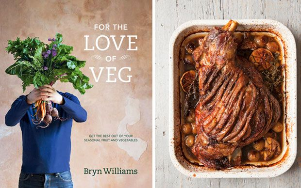 Bryn Williams believes that veg should be cooked with as much care and   attention as meat