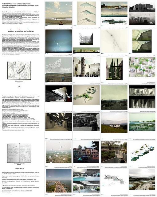 top ten finalists Iakov Chernikhov prize 2010 by paisajesemergentes, via Flickr