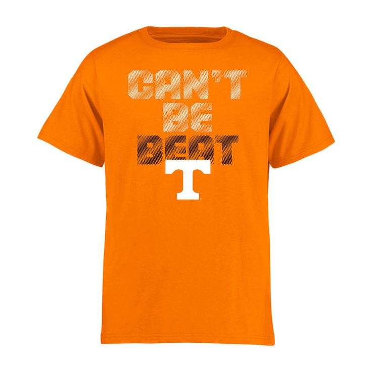 Tennessee Volunteers Youth Can't Be Beat T-Shirt - Tennessee Orange