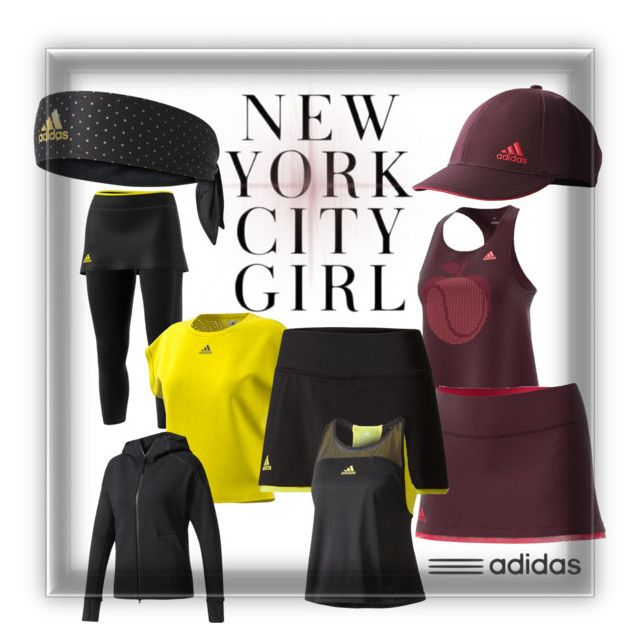 """""""New NYC Women's Tennis Fashion from adidas"""" by tennisexpress"""