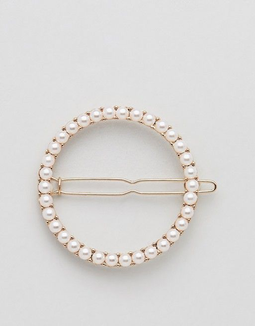 c0adaae6c3 Orelia | Orelia pearl circle hair clip | Hiukset in 2019 | Wedding ...