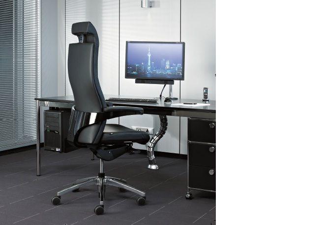 Кресло руководителя TORO - комфорт на самом высоком уровне. Высокое качество материалов и превосходное мастерство обеспечивает эффект благосостояния, который превосходит любые претензии на офисное кресло.