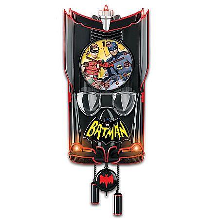 BATMAN Classic TV Series BATMOBILE Cuckoo Clock