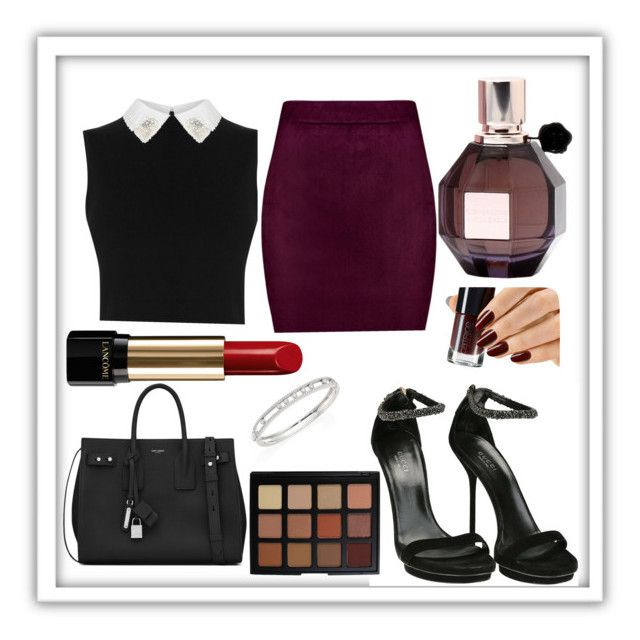 Veronica Lodge by sioxoxo on Polyvore featuring polyvore fashion style Gucci Yves Saint Laurent Messika Morphe Lancôme Viktor & Rolf clothing