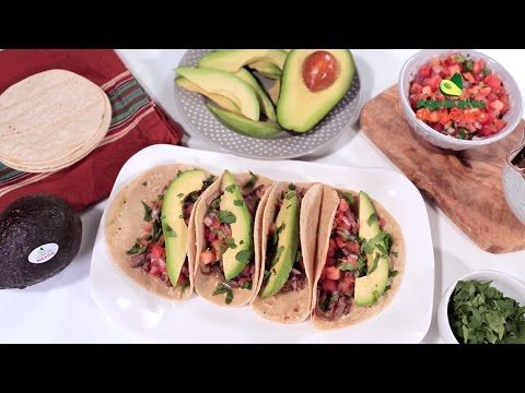 Muy Bueno Cookbook » Tacos al Pastor with Roasted Pineapple Salsa (Grilled Pork Tacos)