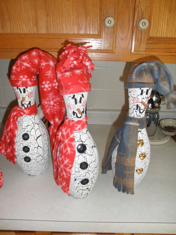 17 Best Images About Bowling Pin Crafts On Pinterest The