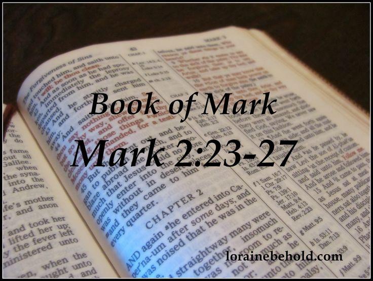 The Gospel of Mark - Agape Bible Study