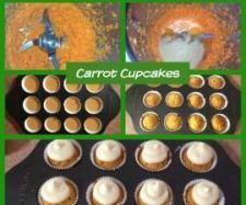 Carrot Cake muffins - so easy & quick!!