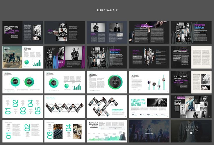 Moda - Fashion & Style Powerpoint Template by Slidehack on Envato Elements