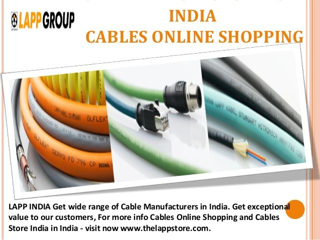 Pin On Buy Cables Online Control Cable Connectors Lapp India