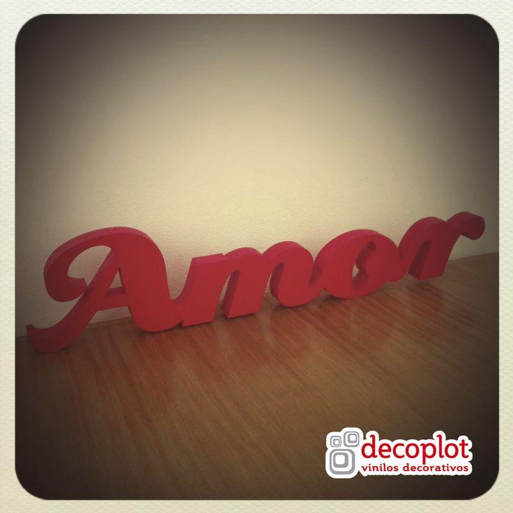 Modelo Amor / Decoplot Vinilos Decorativos