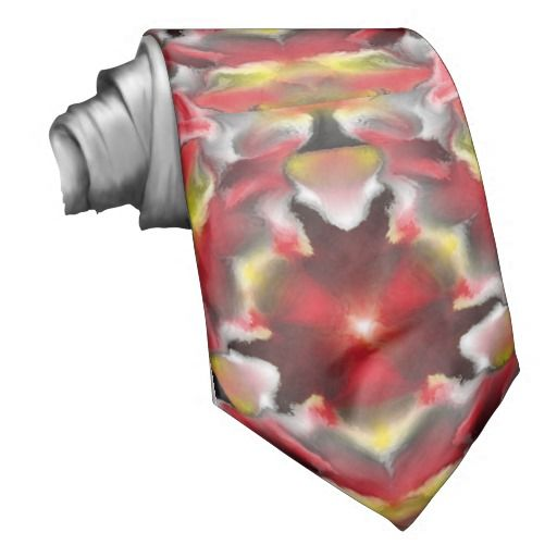 Unique abstract pattern neck wear