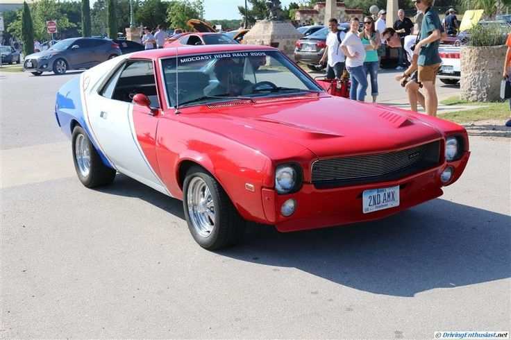 AMC Javelin. As seen at the August 2014 Cars and Coffee show in Austin TX USA.
