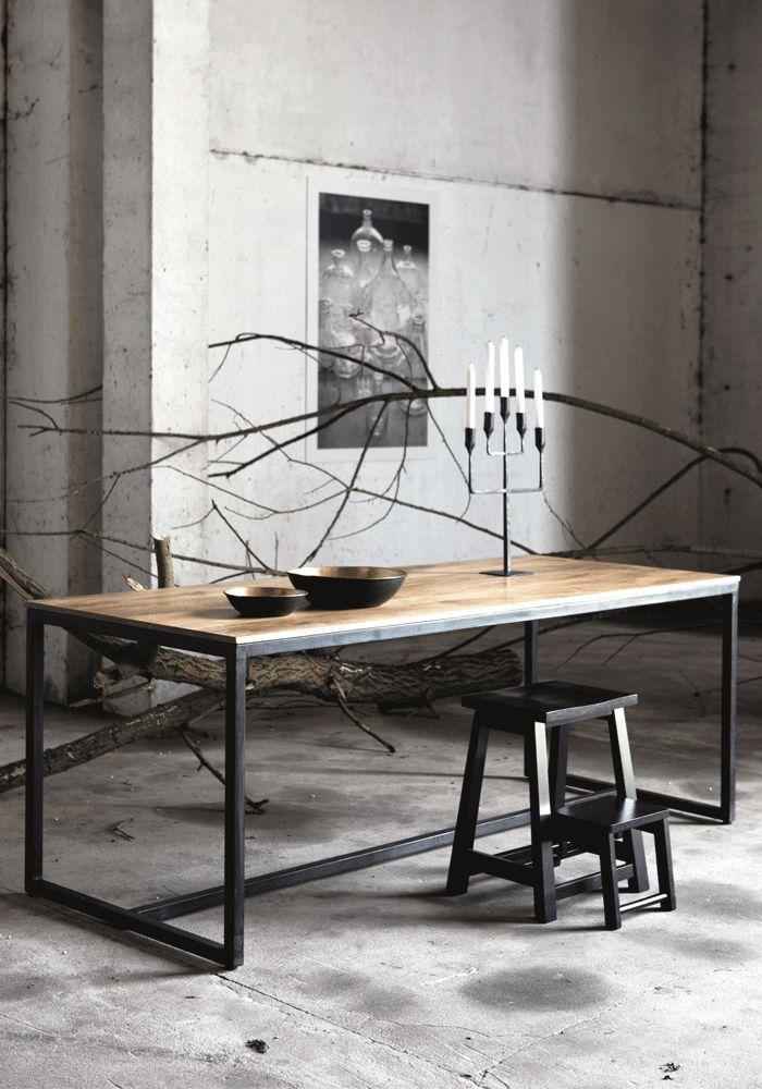 木紋面 黑框腳 Form tableForm table