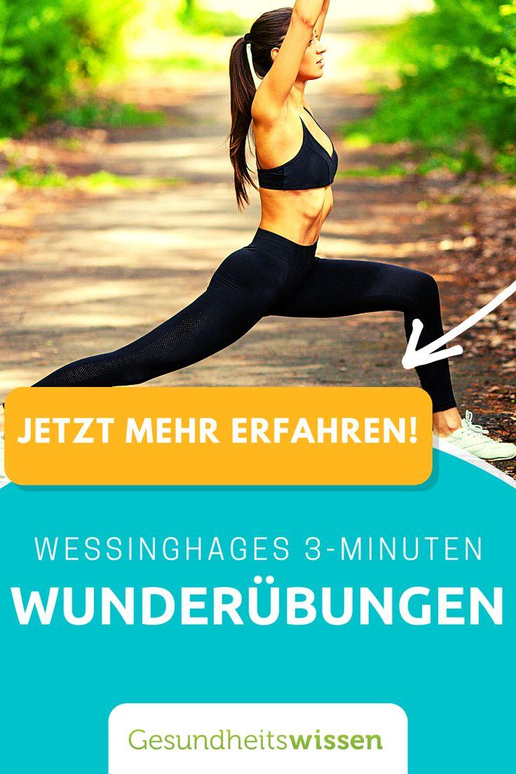 20 Minuten Wunderübungen   Fitness tipps, Fitness und übungen ...