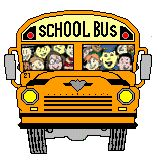 funny school bus pictures | Animations A2Z - animated gifs of buses