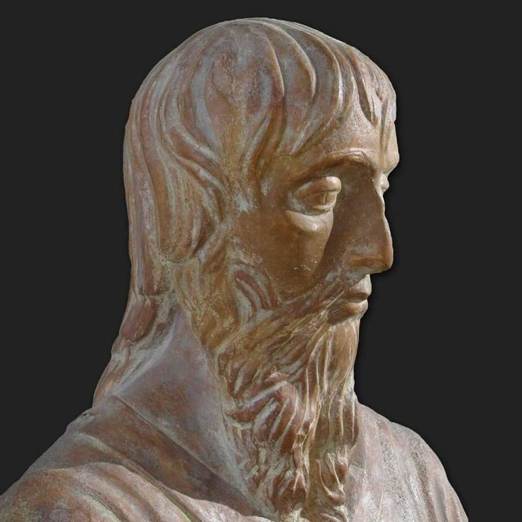 Early 20th Century Terracotta Bust of St. Luke the Evangelist by Renato Bertelli 3