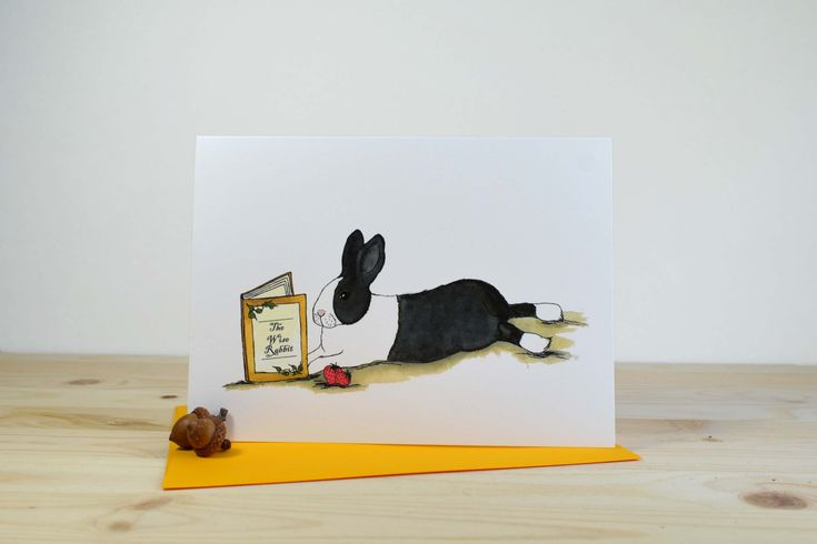 The Wise Rabbit A7 (5x7)