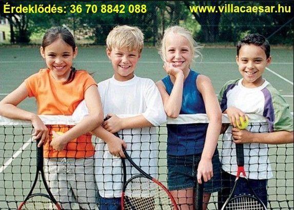 Hasznos időtöltést kínál a Vir szigeten szakedzőkkel vezetett  #tenisz #tábor #gyerekeknek 2016 Júniusában két turnusban.