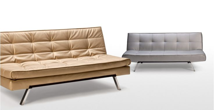 Vinci Sofa Bed in gold | made.com