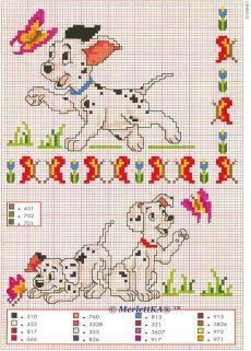 Cross Stitch - Disney Comicfiguren (1)