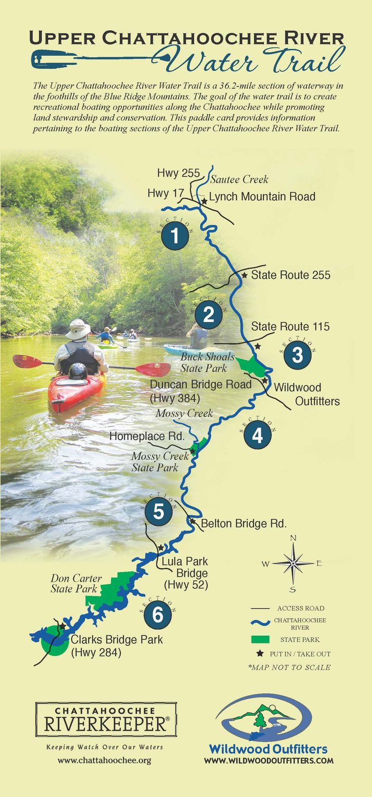 Upper Chattahoochee River Water Trail