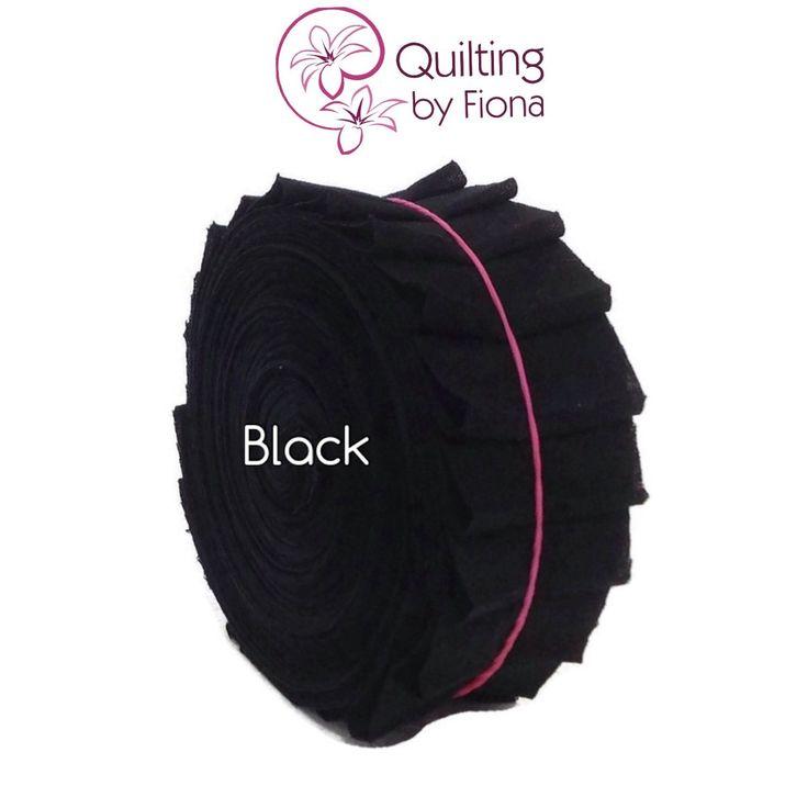 A personal favourite from my Etsy shop https://www.etsy.com/listing/227986582/20-black-precut-honey-bun-fabric-strips
