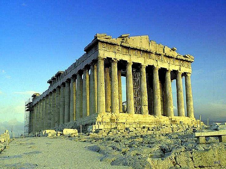 El Partenón. Atenas.