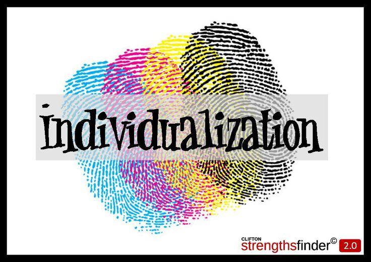 Individualization - StrengthsFinder