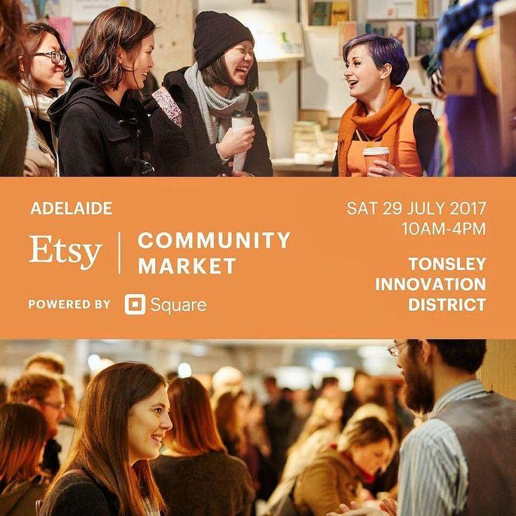 See you tomorrow folks!! #etsyau #etsyxsquare #etsyadelaide