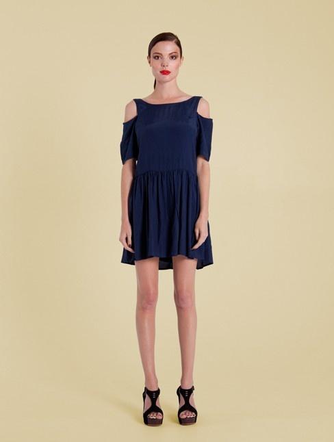Scoop Back Dress Navy from Handsom - Designed for spring / summer 2012/13. 100% Viscose $134