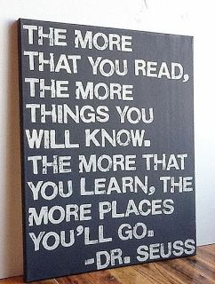to go in the boys' playroom over the reading nook