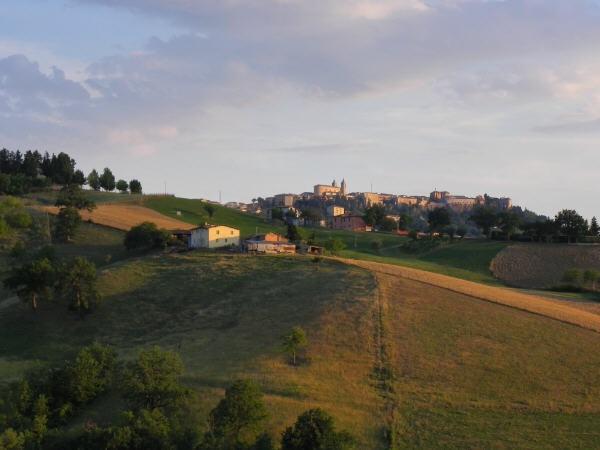 Late summer, afternoon #Camerino #Italian Landscape #Le Marche