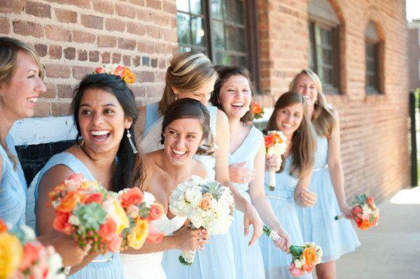Light Blue Bridesmaid Dresses, Light Blue Wedding Color, Something Blue Dresses
