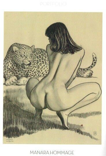 Samples erotic comics Milo manara