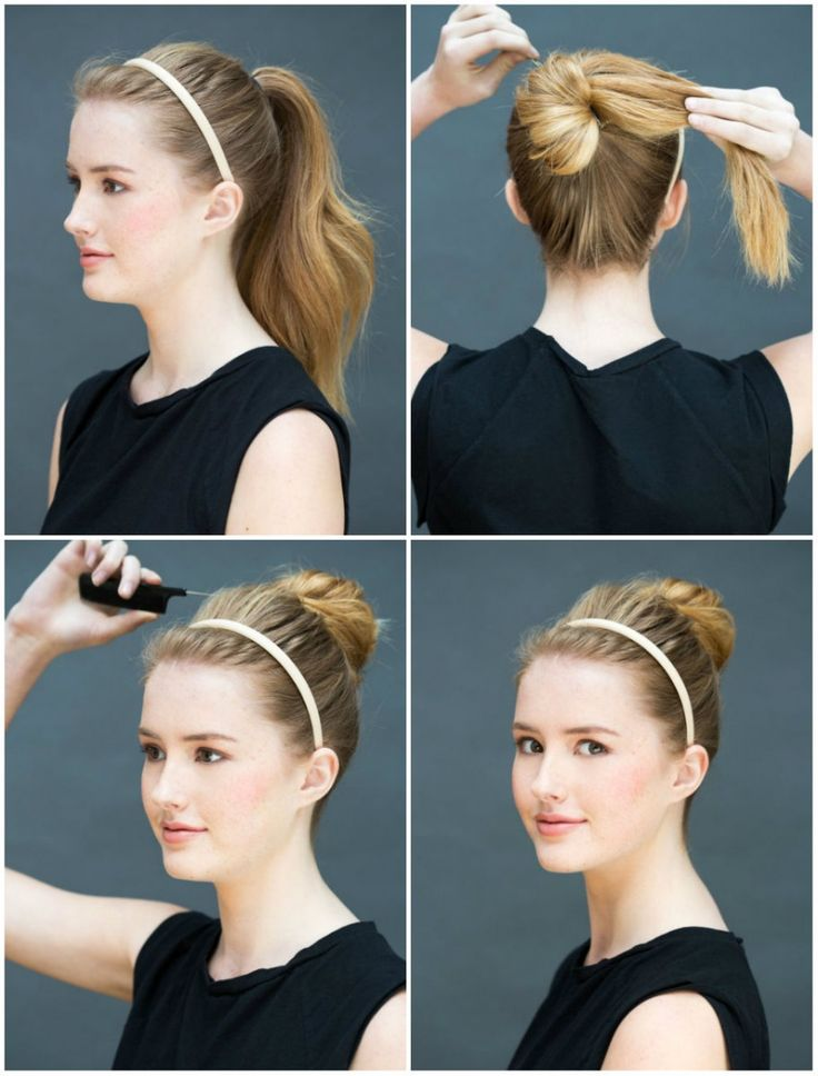 Eight ridiculously simple hairstyles you can do in ten seconds