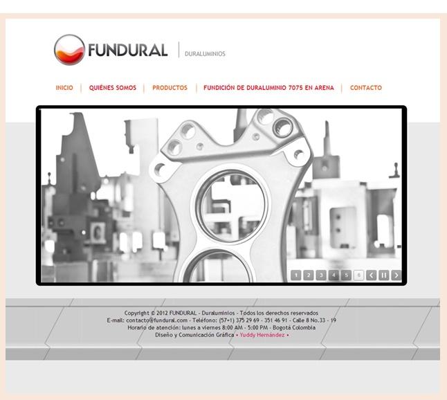 Diseño web Fundural http://www.yuddyhernandez.com/portafolio/html/fundural.html