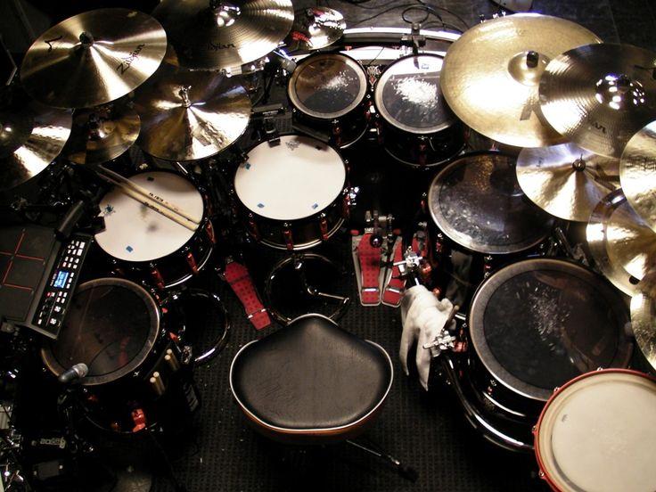 Stanley Randolph Stevie Wonder Cool Drum Kits Amp Set