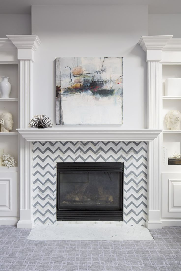 24 best Fireplace - Tile images on Pinterest   Fireplace tiles ...