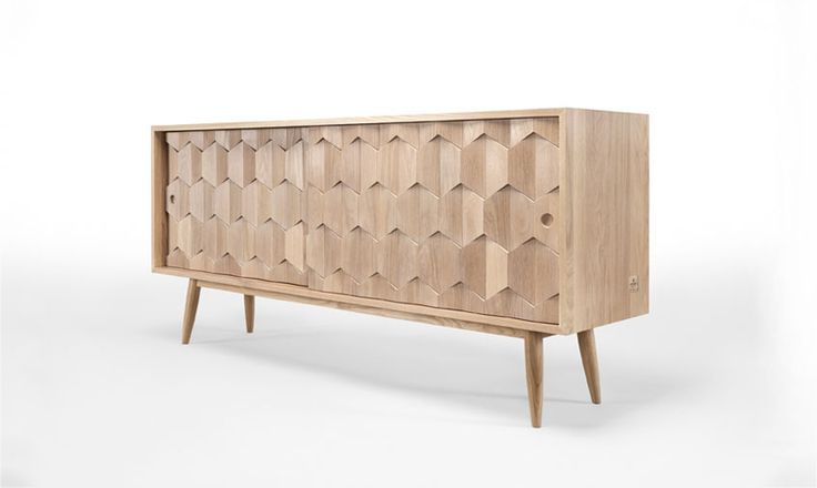 Scarpa is a stunning piece, with a detailed work. #scarpa #sideboard #livignroom #homedecor #wood #solid #oak #walnut #trends