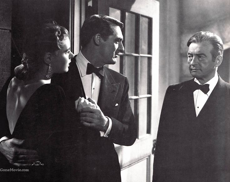 """Notorious"" Alfred Hitchock film / Ingrid Bergman, Cary Grant, Claude Rains (doesn't get better than this)"