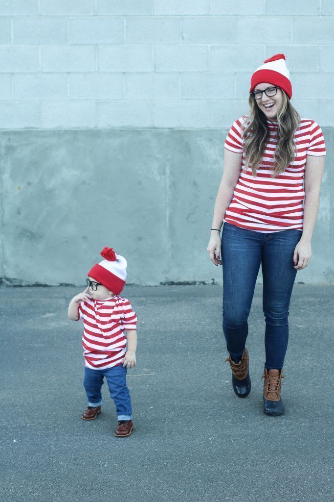 where's waldo | halloween costume | mommy and me costume | halloween | Halloween family costume | costume |