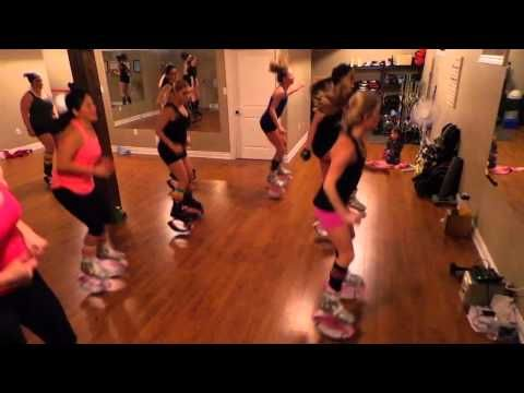 Kangoo with Becky- Uptown Funk - slower pace, good warm up/cool down